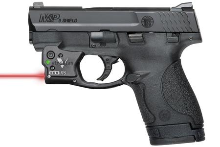 SMITH AND WESSON MP9 SHIELD 9MM W/VIRIDIAN RED LASER