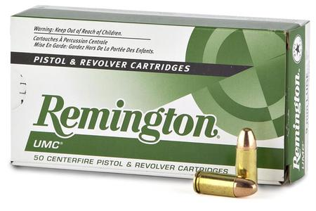 Remington 9mm Luger 115 gr FMJ UMC 500 Round Case