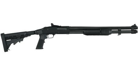 Mossberg 590A1 Tactical 12 Gauge Pump Shotgun with 6-Position Adjustable  Stock