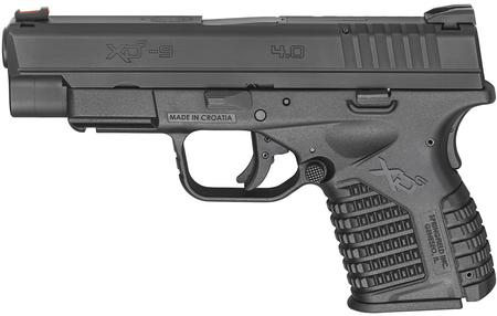 SPRINGFIELD XDS 4.0 SINGLE STACK 9MM BLACK