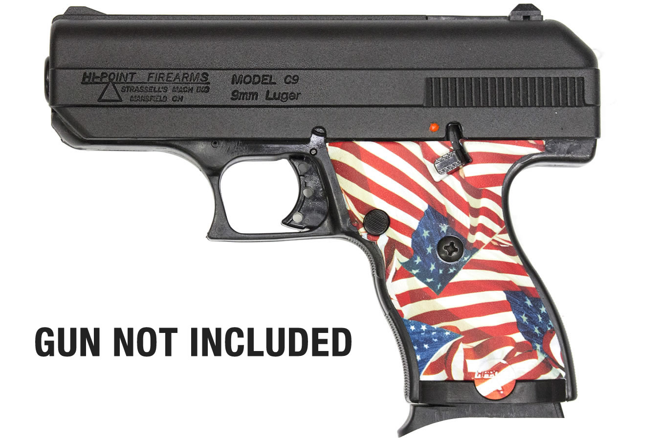 American Flag Grip Panels for Hi-Point 9mm and 380 Pistols