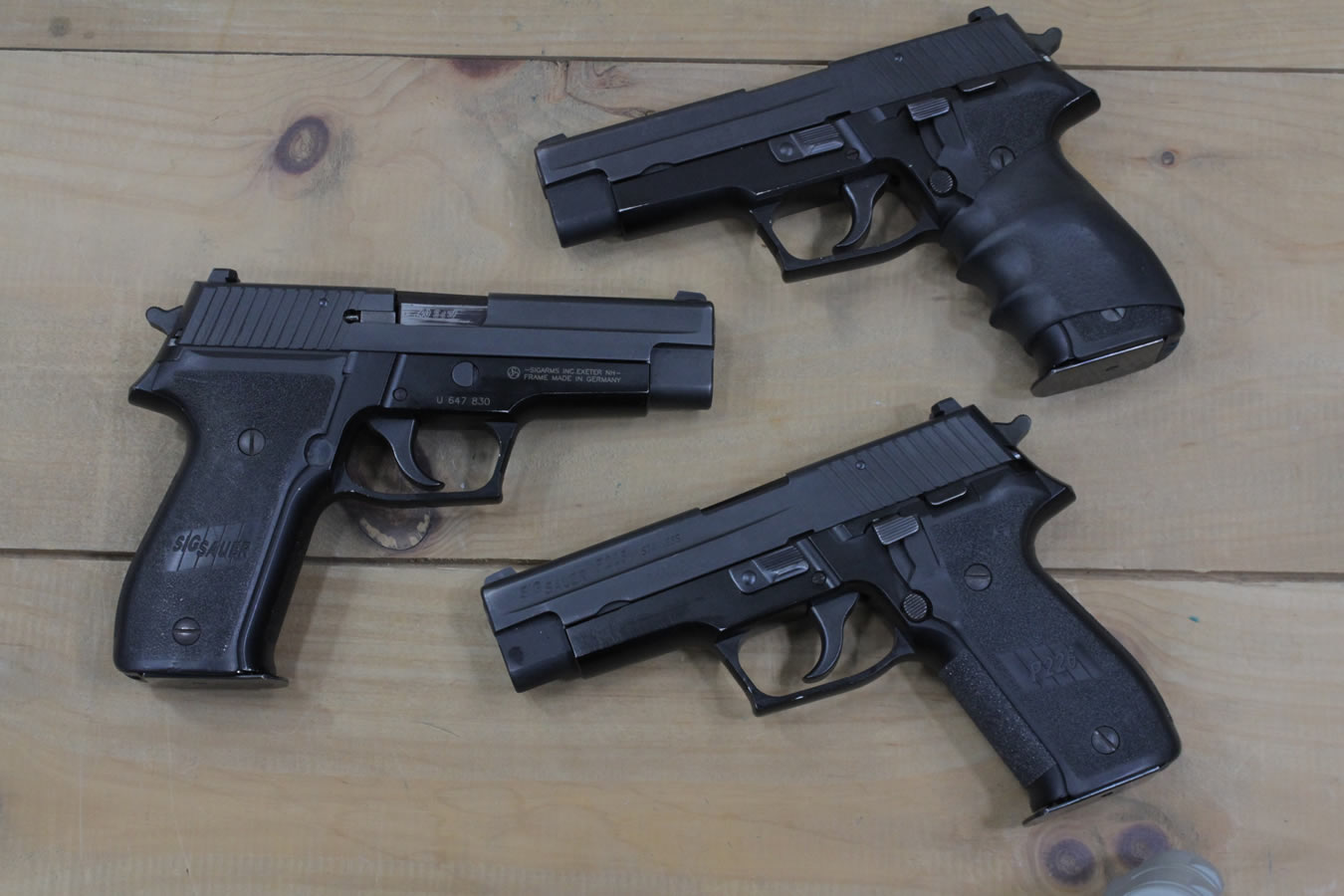 sig sauer p226 40 s w da sa police trade ins good condition