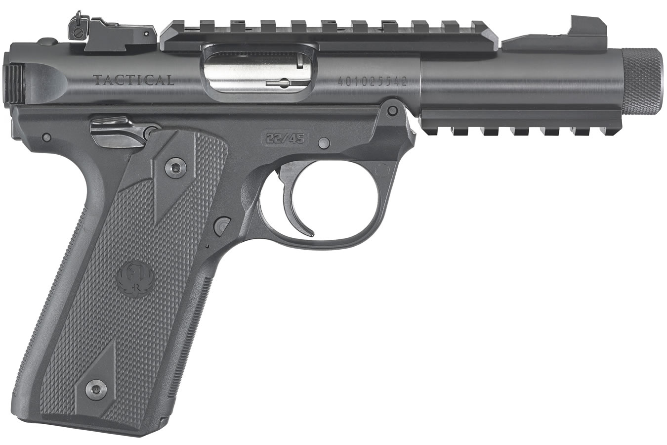 Ruger Mark Iv 2245 Tactical 22lr With Threaded Barrel Sportsmans