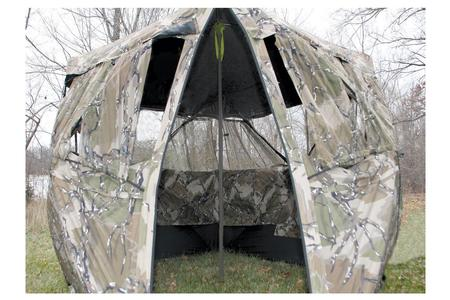 GROUND BLIND SUPPORT POLE