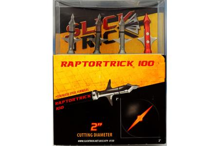 2` RAPTORTRICK 3 PACK 100 GRAIN