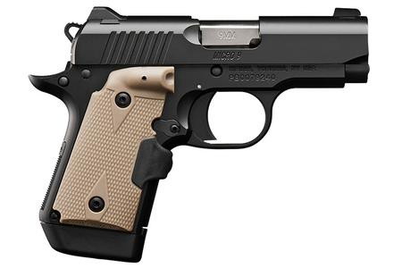 KIMBER MICRO 9 WITH DESERT TAN LASER GRIP