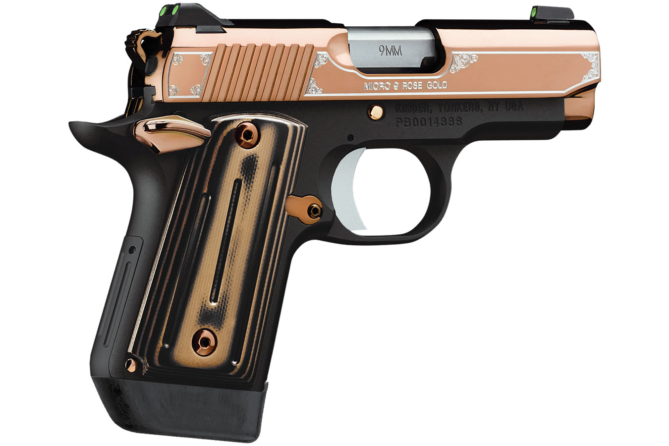 Micro 9 Rose Gold 9mm Special Edition with Night Sights