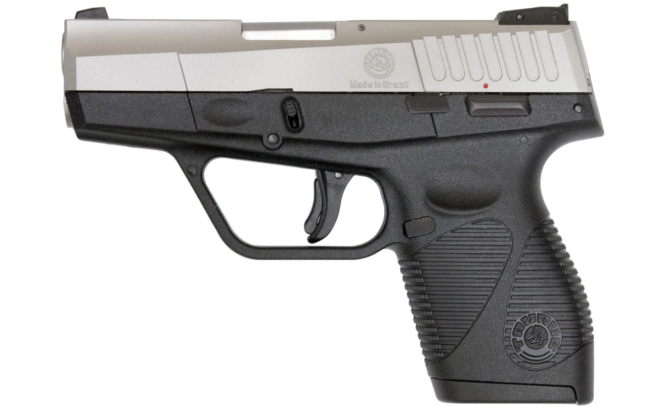 TAURUS PT-740 SLIM 40SW WITH STAINLESS SLIDE