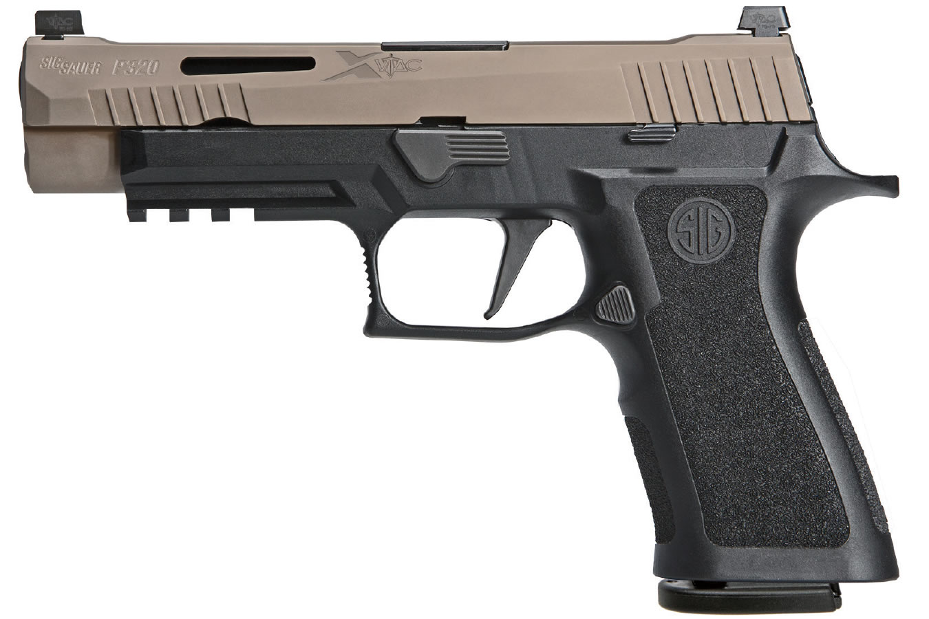 P320 X-VTAC 9MM WITH FDE SLIDE