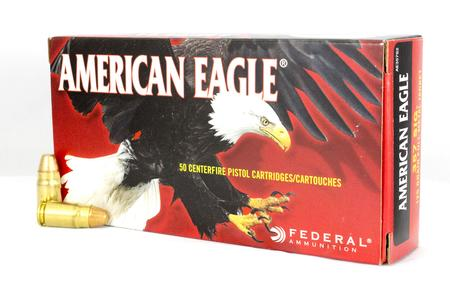 FEDERAL AMMUNITION 357 Sig 125 gr FMJ American Eagle Police Trade Ammo 50/Box