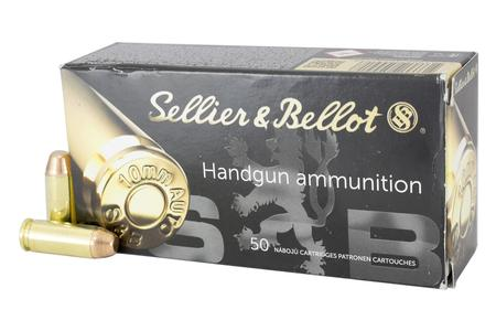 SELLIER AND BELLOT 10mm Auto 180 gr FMJ 50/Box