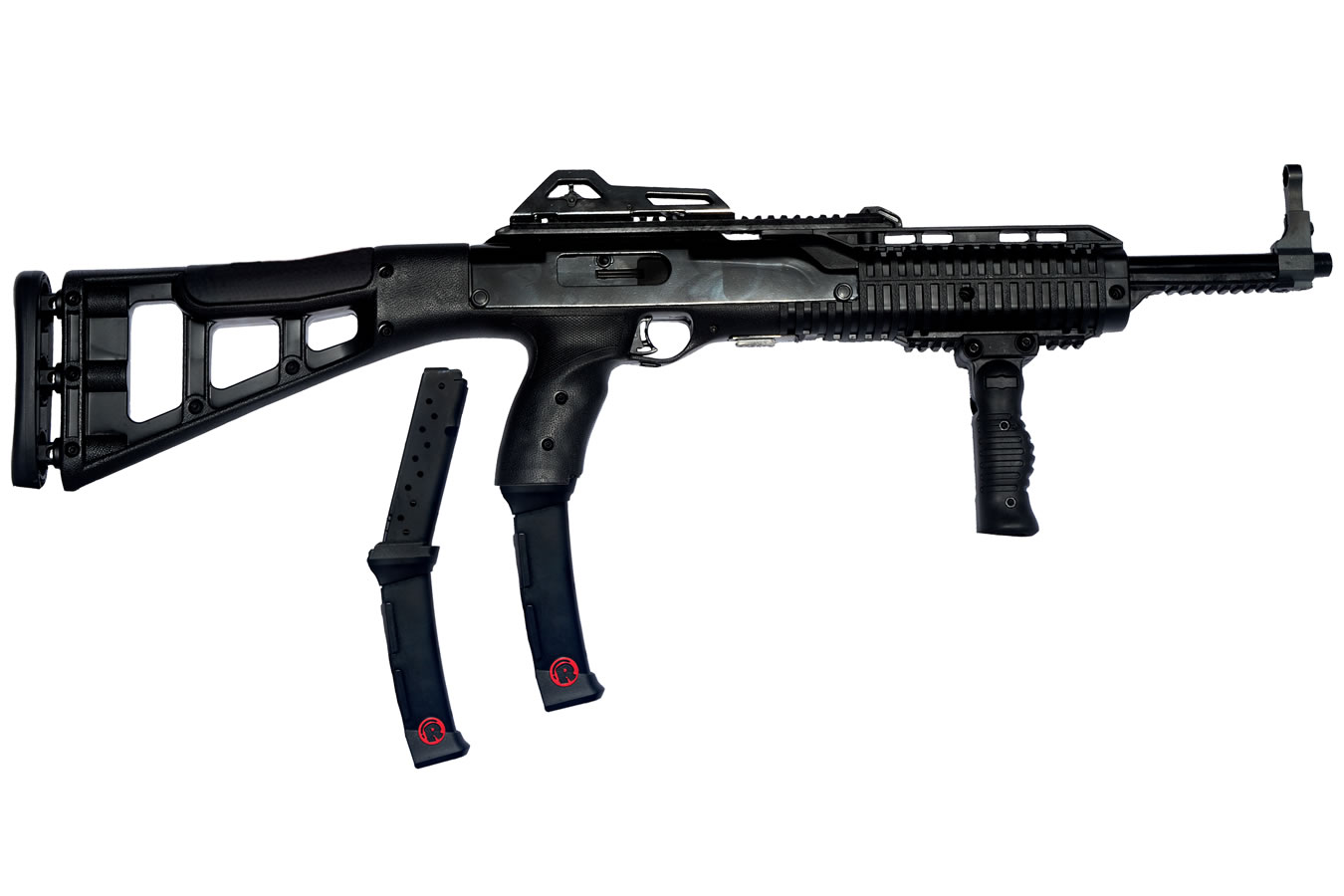 995TS 9mm Carbine with Forward Grip and Two 20-Round Magazines