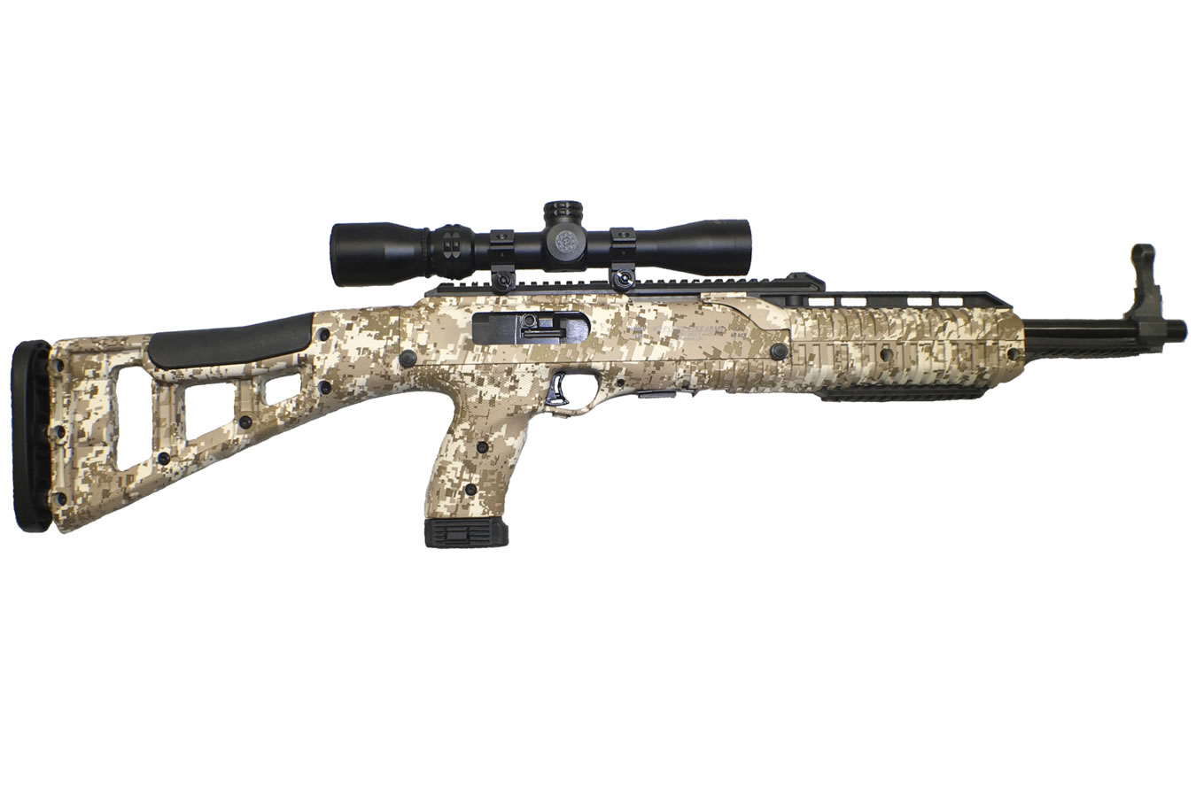 4595 HUNTER CARBINE DDP CAMO WITH SCOPE