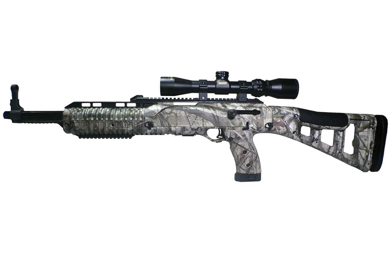 4595 HUNTER CARBINE WC CAMO WITH SCOPE