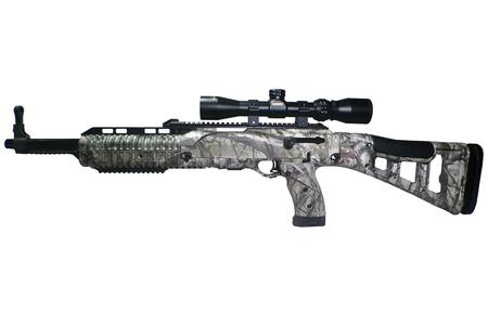 HI POINT 4595 Hunter 45 ACP Carbine with Woodland Style Camo Finish and Konus 1.5-5x32 Scope