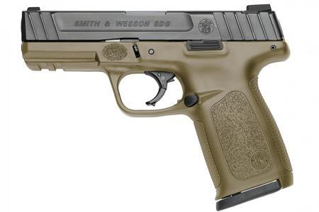 SMITH AND WESSON SD9 9MM WITH FDE FRAME