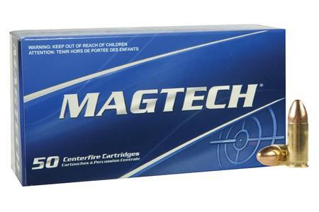 Magtech 9mm Luger 115 gr FMJ Centerfire Ammo 50/Box