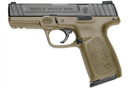 SMITH AND WESSON SD40 40SW FLAT DARK EARTH (FDE)