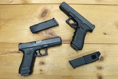 Glock 17 Gen4 9mm Police Trade-ins (Very Good)