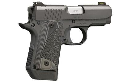 KIMBER MICRO 9 9MM MATTE BLACK W/ FIBER OPTIC