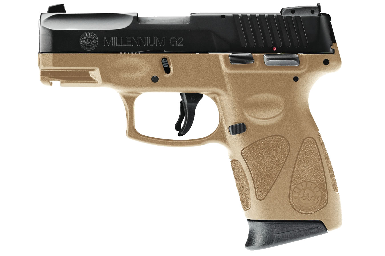 taurus millennium pt111 g2 9mm flat dark earth fde sub