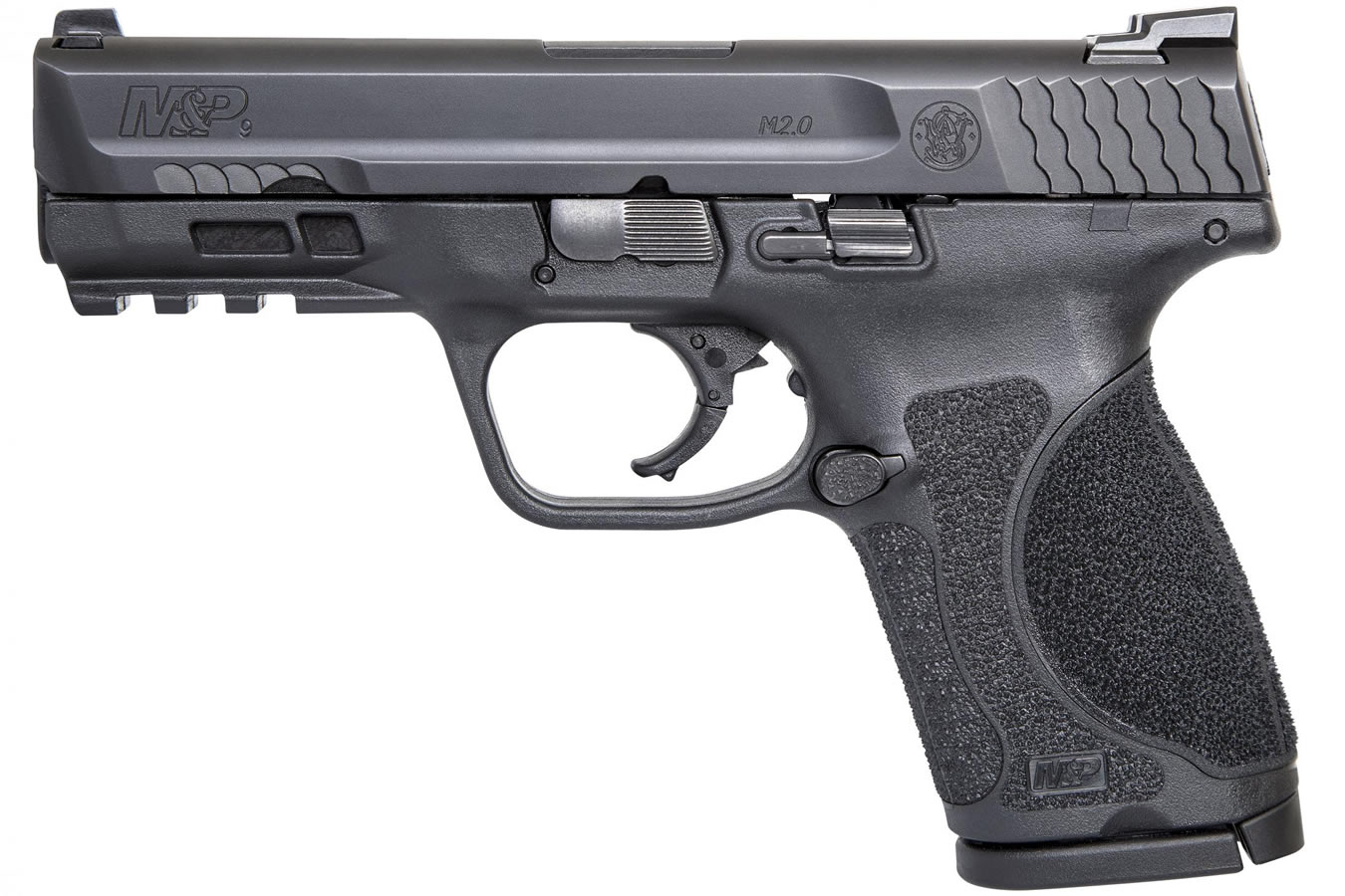 No. 10 Best Selling: SMITH AND WESSON MP9 M2.0 COMPACT 9MM W/O THUMB SAFETY