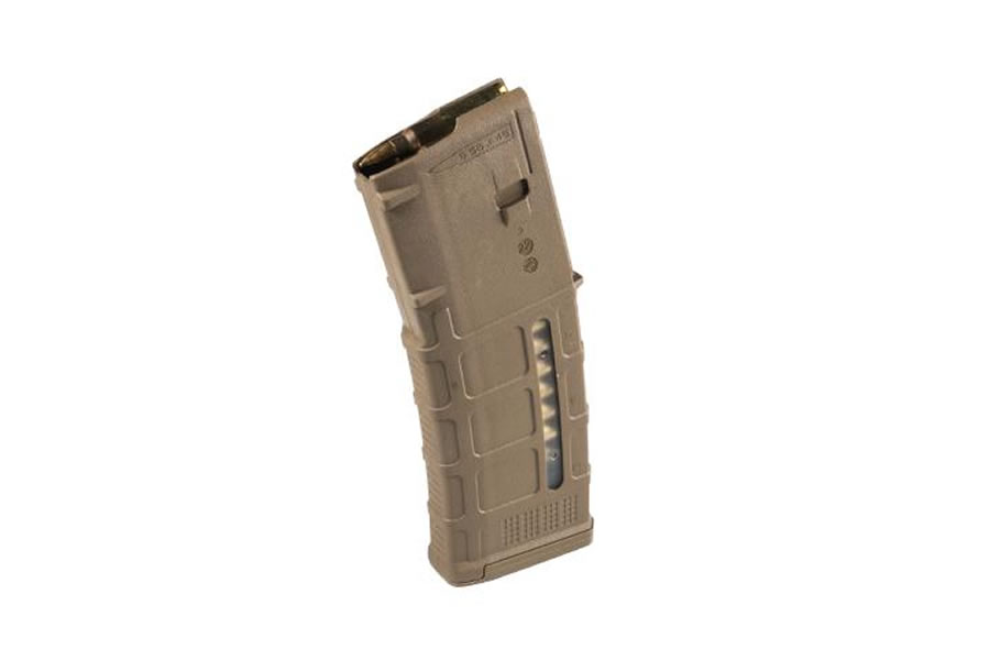 PMAG 30RND TAN W/WINDOW 5.56X45 NATO