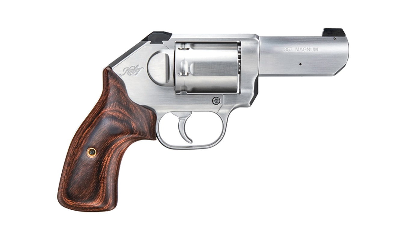 K6S STAINLESS 357 MAG WITH 3-INCH BARREL