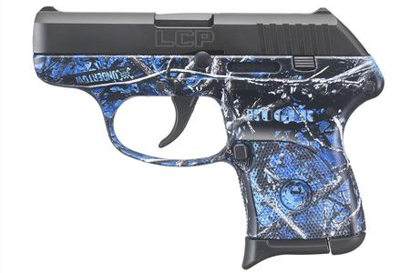 Ruger LCP 380 Auto Centerfire Pistol with Moonshine Camo Undertow Finish