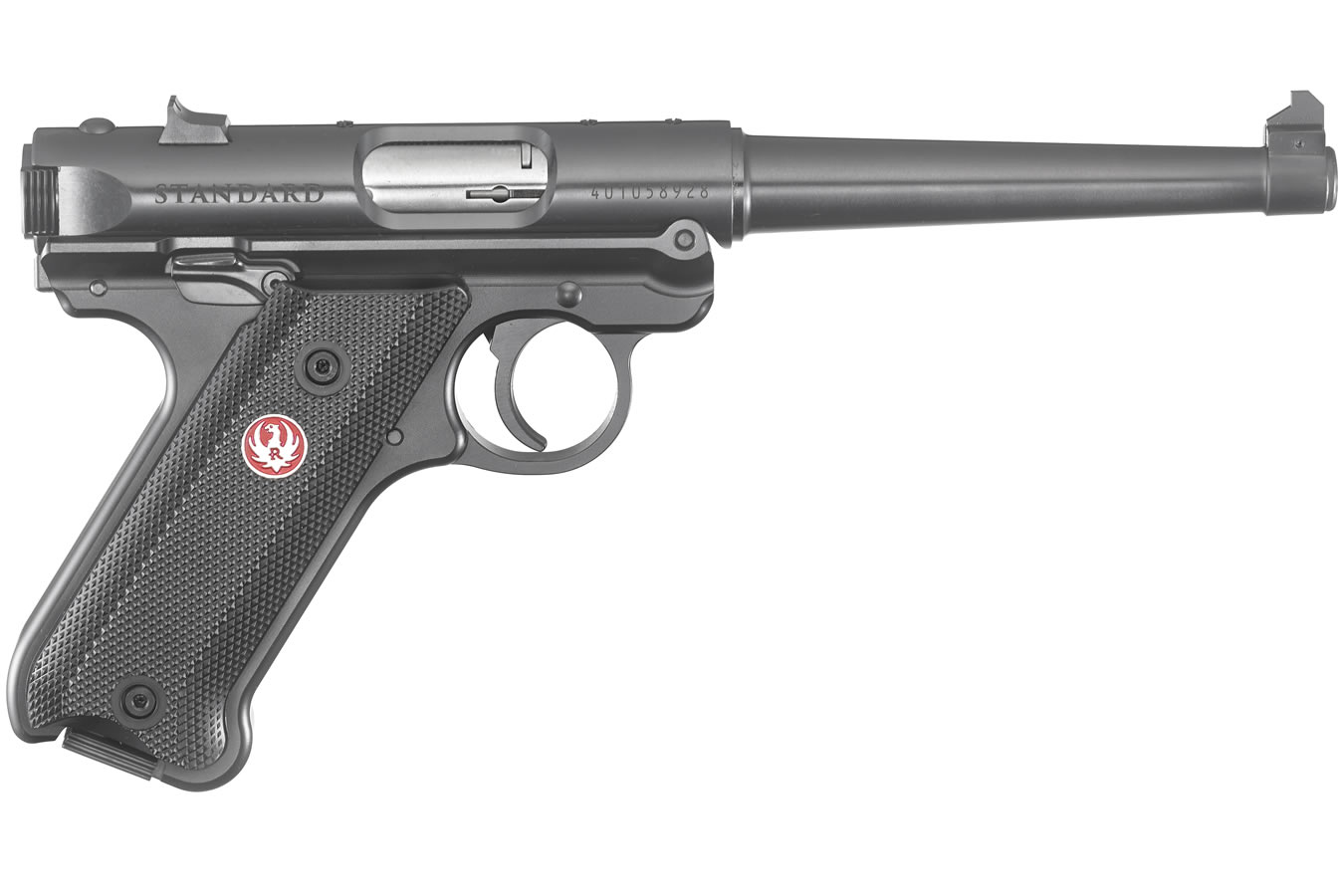 Ruger Mark Iv Standard 22lr Rimfire Pistol With 6 Inch