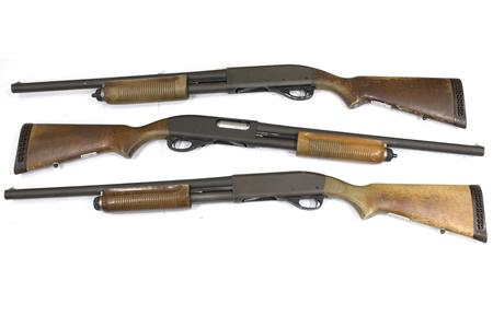 Pump-Action Shotguns