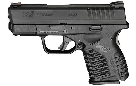 SPRINGFIELD XDS 3.3 SINGLE STACK 45ACP HOLIDAY PKG