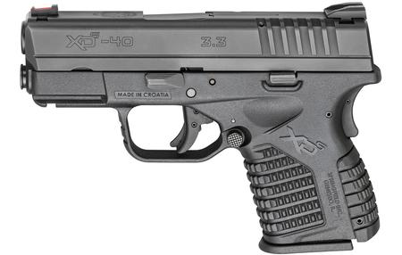 XDS 3.3 SINGLE STACK 40SW HOLIDAY PKG