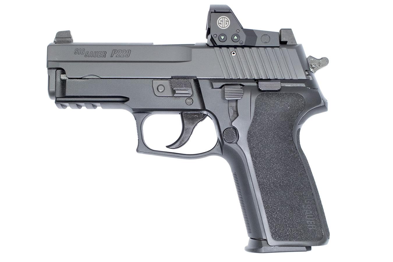 P229 RX 9mm DA/SA Pistol with ROMEO1 Reflex Sight