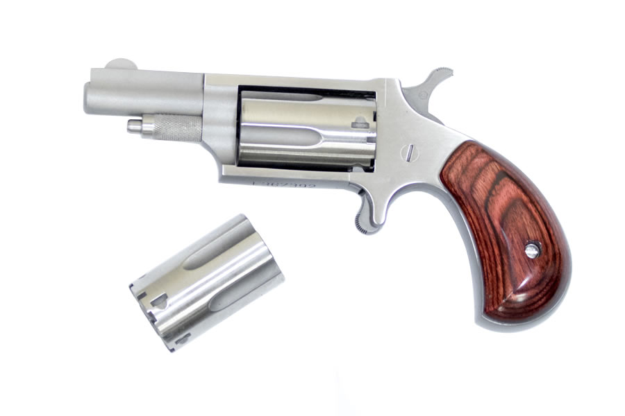 22 Magnum Mini Revolver with 22 LR Conversion