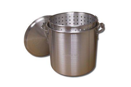 BOILING POT W/LID AND BASKET