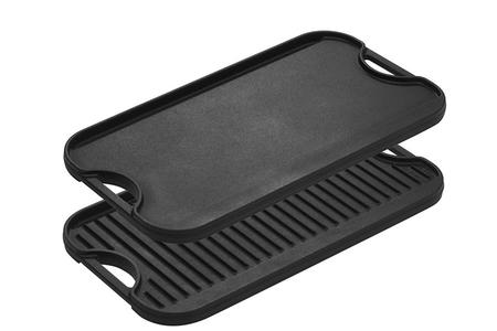 PRO-GRID IRON REVERSIBLE GRILL/GRIDDLE