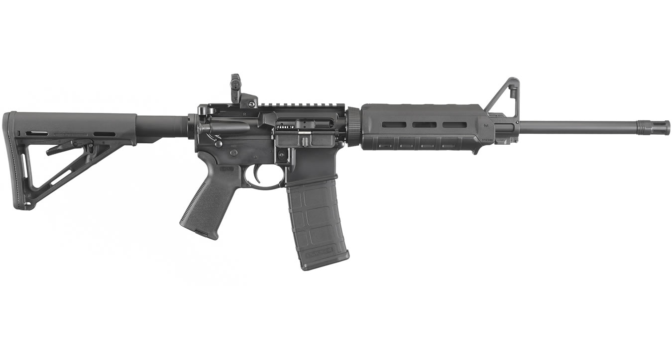 No. 6 Best Selling: RUGER AR-556 5.56MM WITH MAGPUL MOE FURNITURE