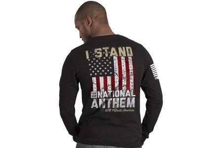 I STAND MENS LS TEE
