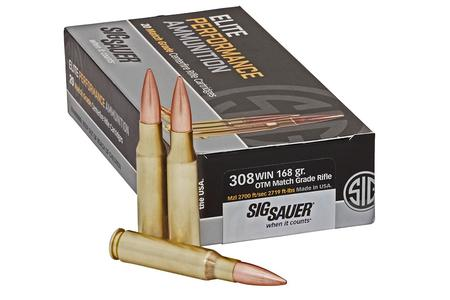 SIG SAUER 308 Win 168 gr Elite Match Grade OTM 20/Box
