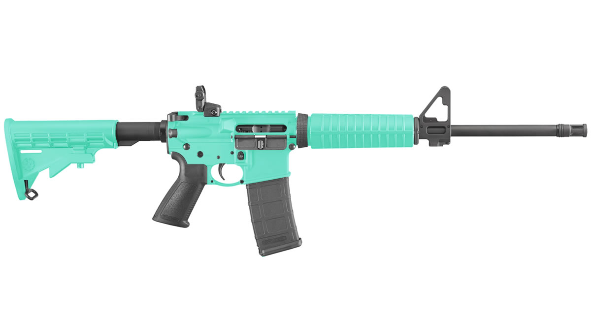 RUGER AR-556 5.56MM NATO ROBINS EGG BLUE