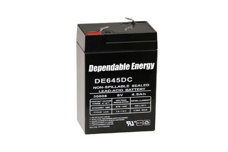 POWER STAR DE645DC 6V BATTERY