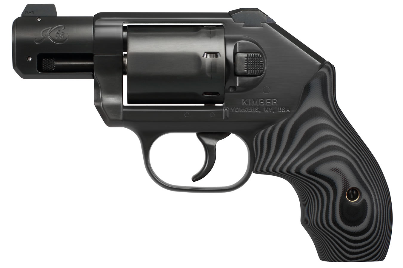 K6s DC 357 Magnum Double-Action Revolver with Front Night Sight