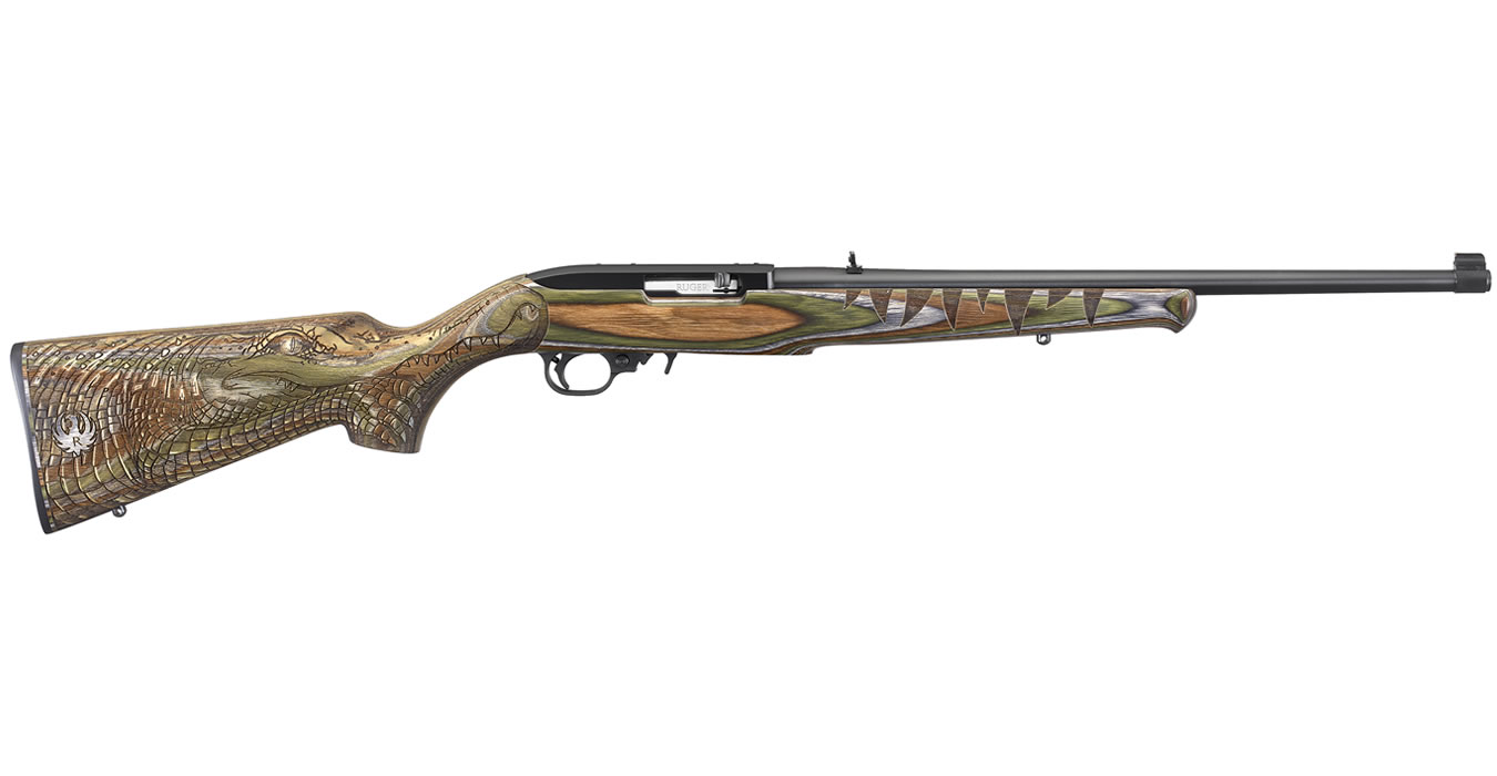 ruger 10 22 22lr green gator limited edition rifle talo exclusive