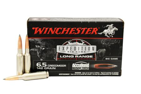 WINCHESTER AMMO 6.5 Creedmoor 142 Gr Accubond Long Range 20/box