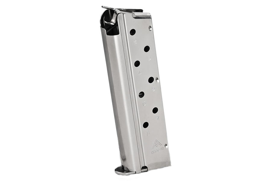 1911 9mm 8 Round Ultra Compact Stainless Factory Magazine