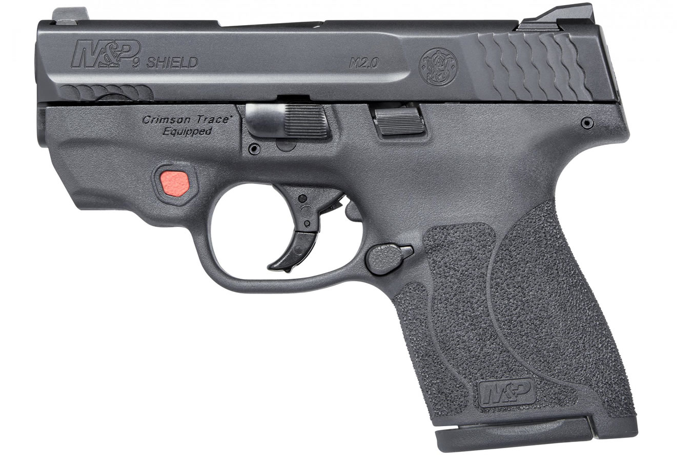 M&P9 Shield M2 0 9mm with Integrated Crimson Trace Laser and No Thumb Safety