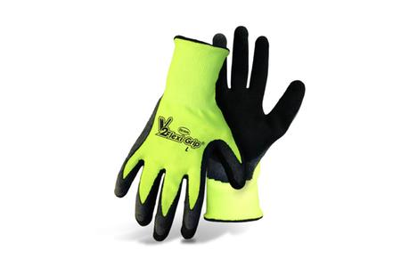 HI-VIS NYLON KNIT, LATEX PALM