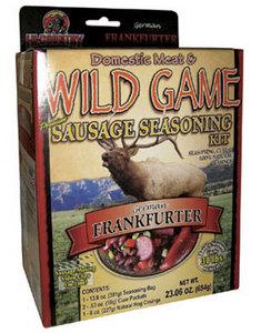 WILD GAME GERMAN FRANKFURTER SEASONING