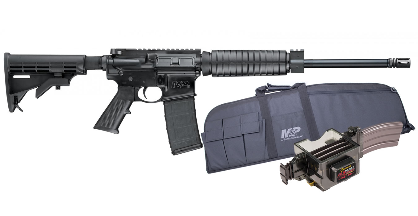 No. 17 Best Selling: SMITH AND WESSON MP15 SPORT II 5.56 OPTIC READY PACKAGE